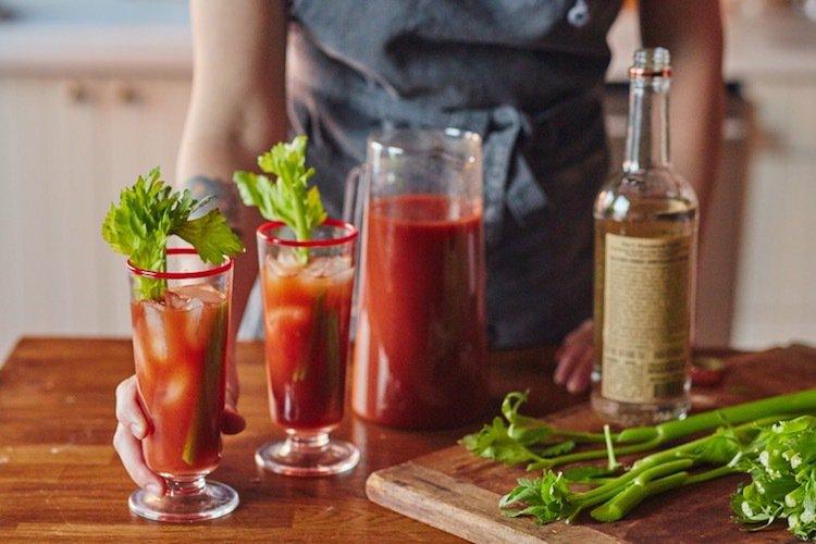 Bloody Mary Rezept Longdrinkgläser