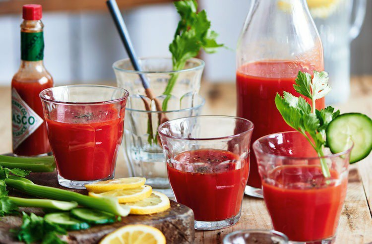 Bloody Mary Rezept notwendige Zutaten