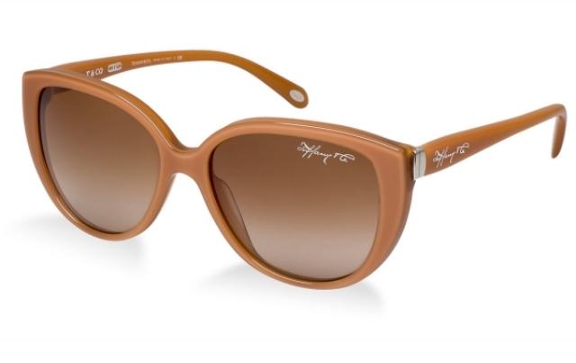 braune Sonnenbrille Damen modern stilvoll