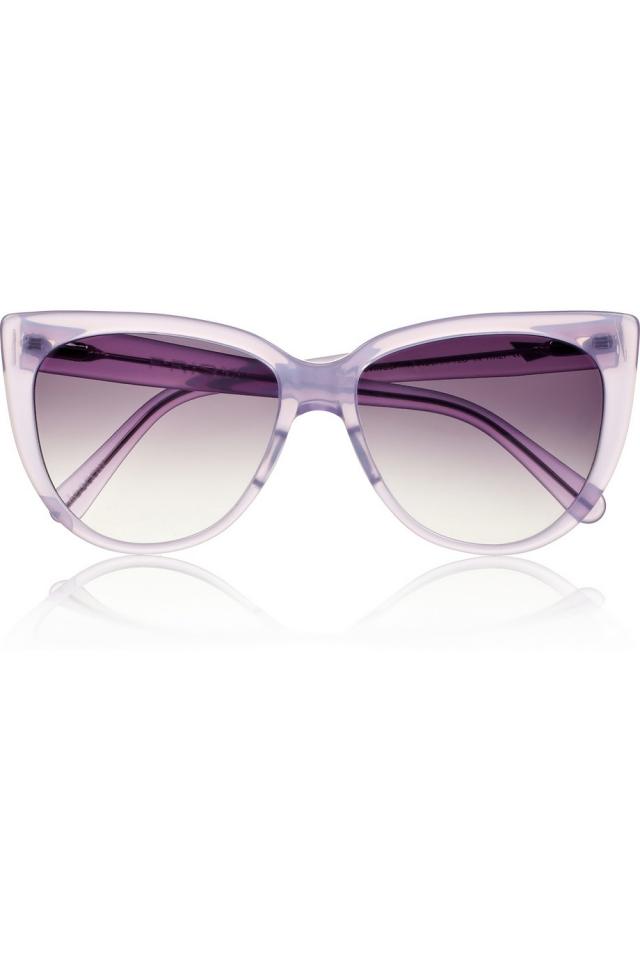 Damenbrillen Gläser leicht violett Gestell transparent