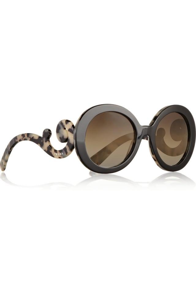 Sonnenbrille Damen runde Gläser Gestell ungewähnlich