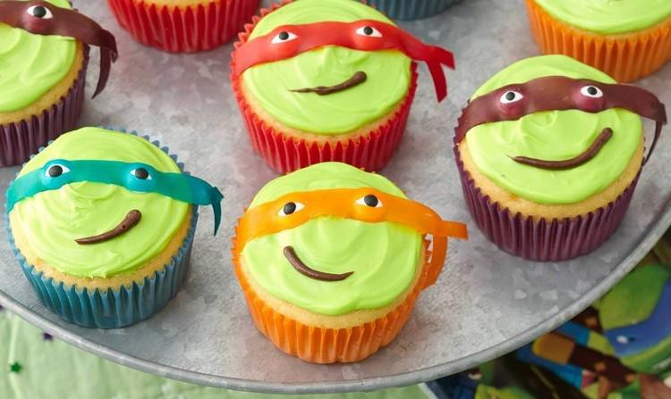 Kindergeburtstag Cupcakes zubereiten