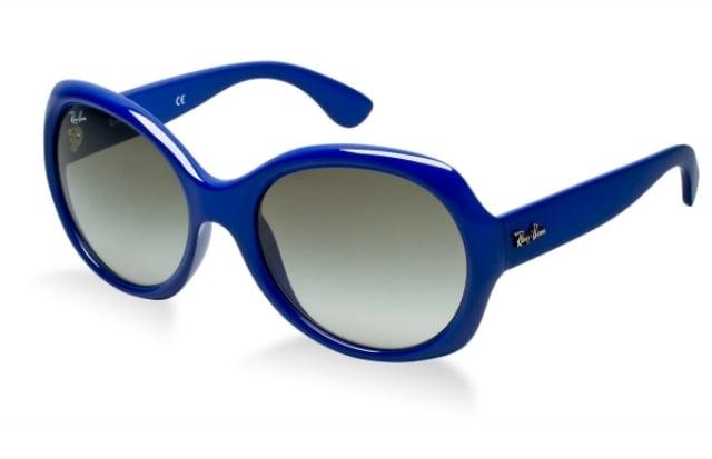 Damenbrillen blaues Gestell frischer Look
