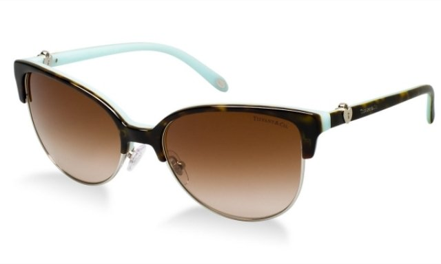 Damenbrillen braun Gestell Metall cooler Look