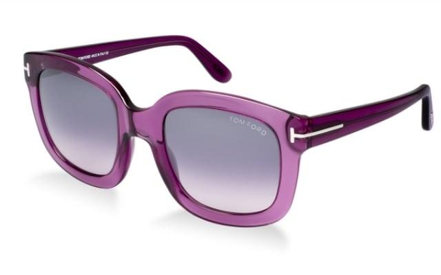 Sonnenbrille Damen Gestell Violett massiv