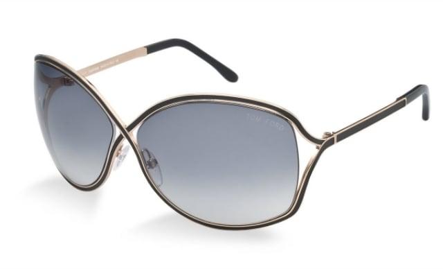 Sonnenbrille Damen dünnes Metallgestell super elegant