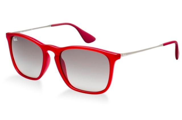 Damenbrillen rotes Gestell schick