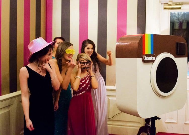 Fotobox professionell Partyfotos machen