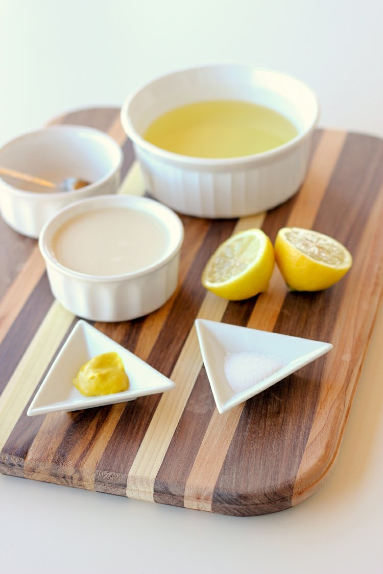 Mayonnaise selber machen notwendige Zutaten
