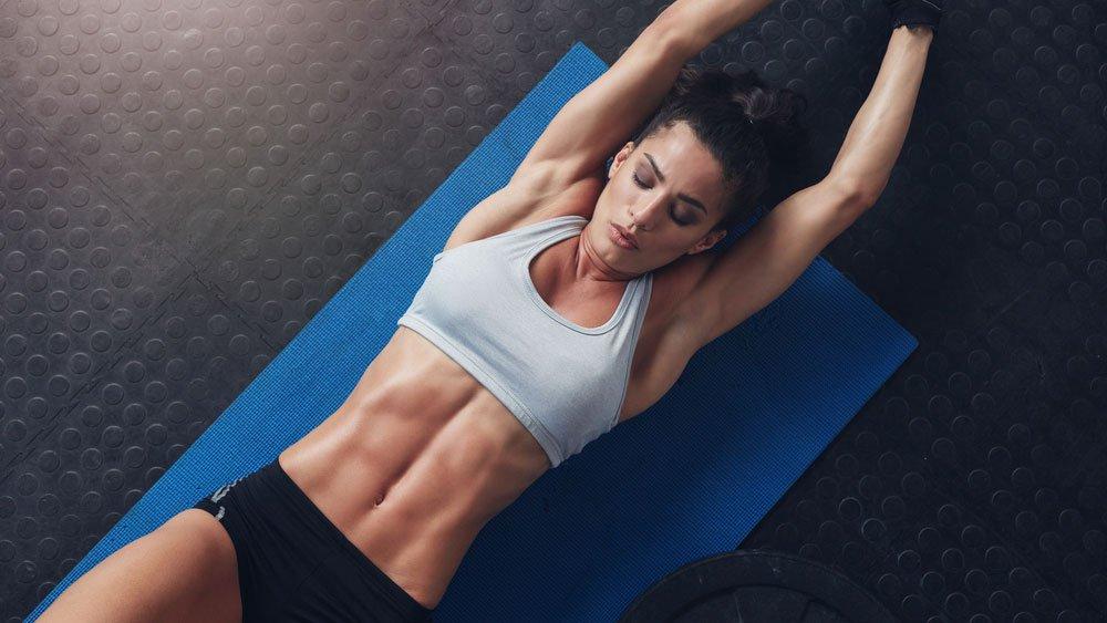 Abs Workout Muskelmasse aufbauen