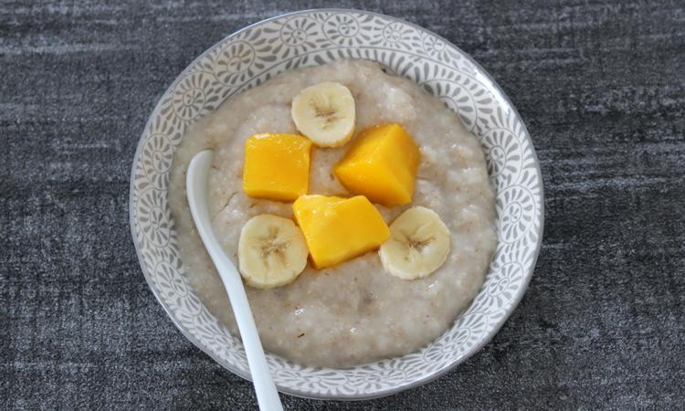Brunch Rezepte Müsli mit Mango und Banane