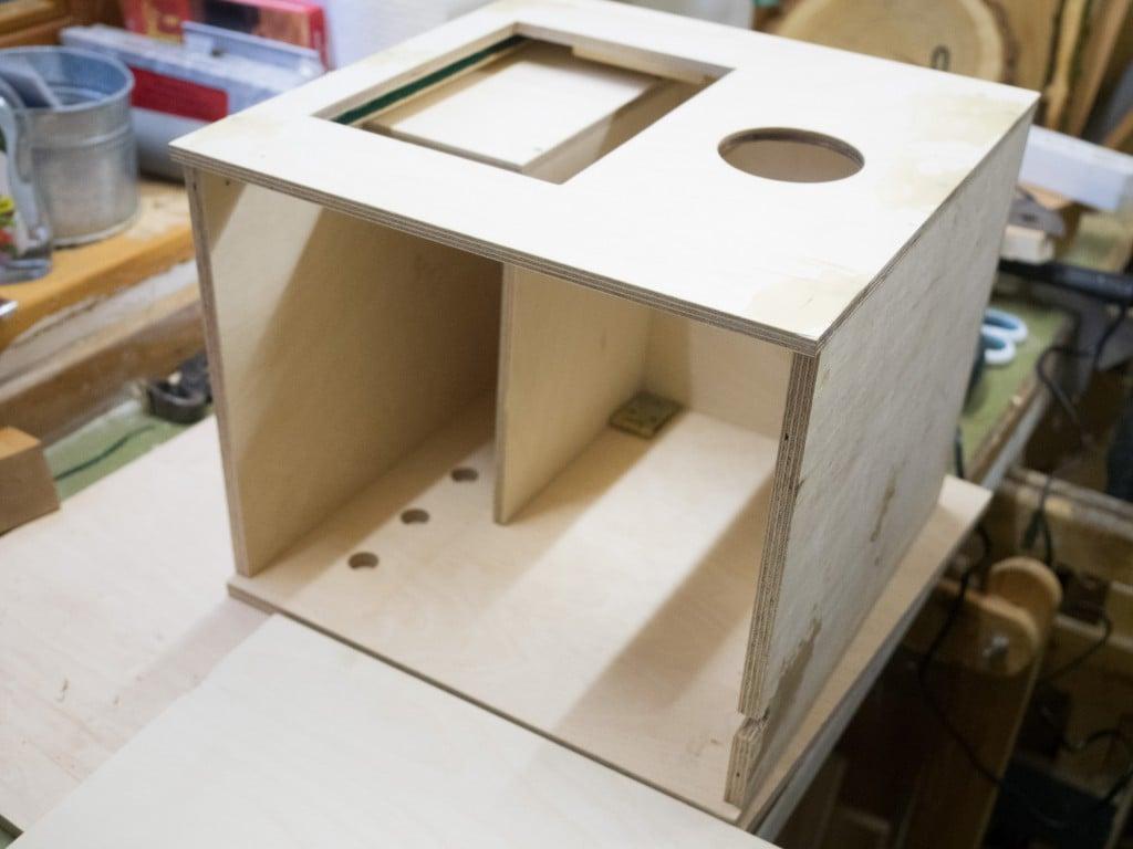 Photobooth Holzkasten bauen