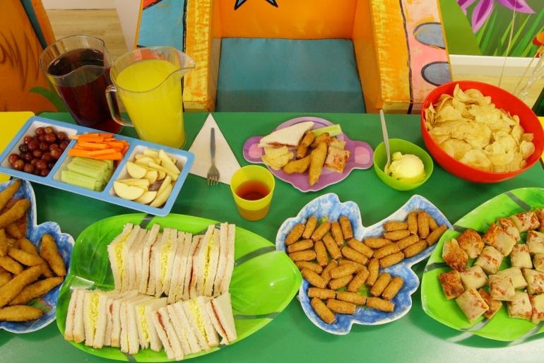 Fingerfood für Kinder Buffet leckere Ideen