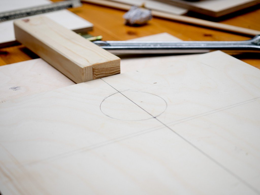 Fotobox selber bauen ein Schema zeichnen