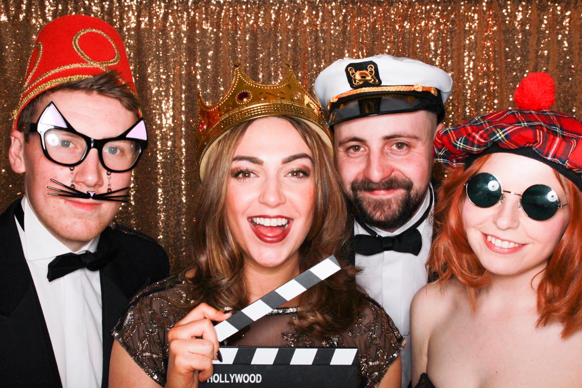 Photobooth Fotos aufnehmen Party