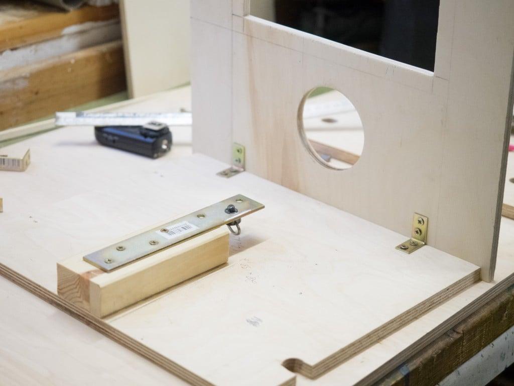 Photobooth bauen Kamera montieren