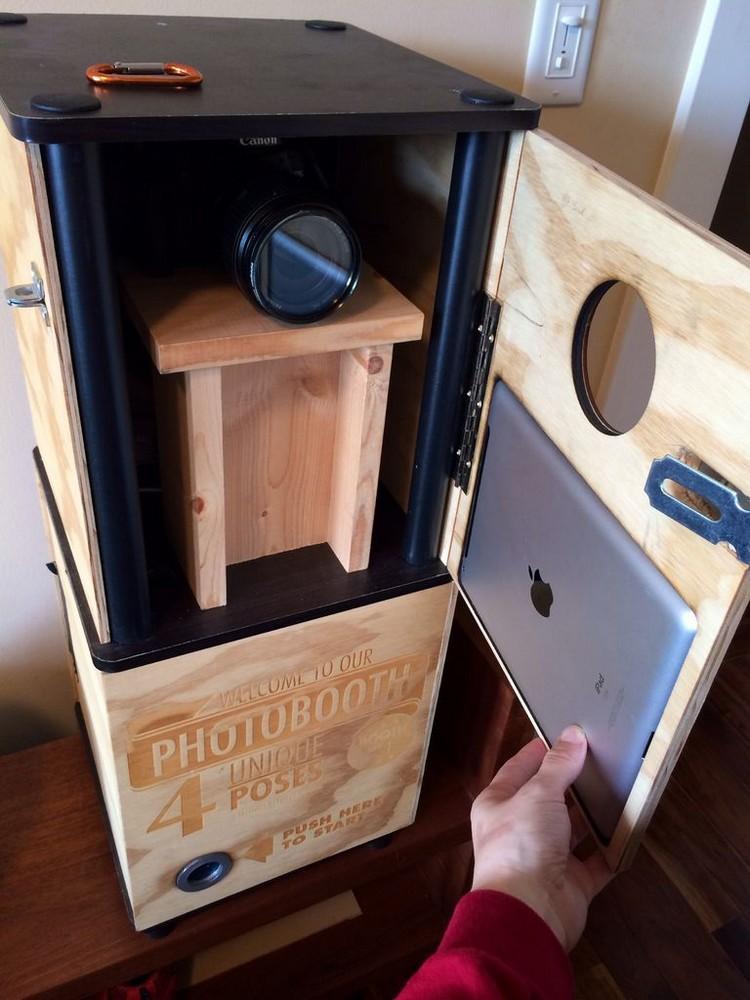 Photobooth bauen nötige Technik