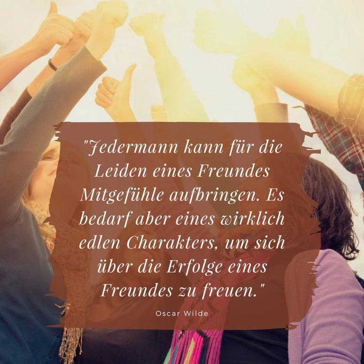 BFF Sprüche inspirierender Zitat Oscar Wilde