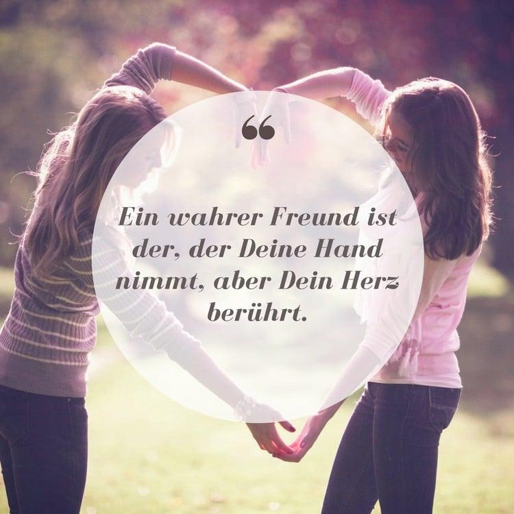 Spruch Freundschaft wer ist der wahre Freund