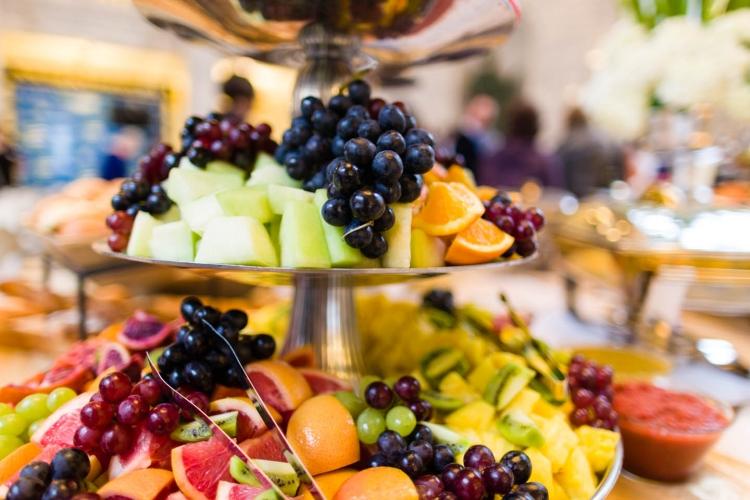 Brunch Rezepte frisches Obst