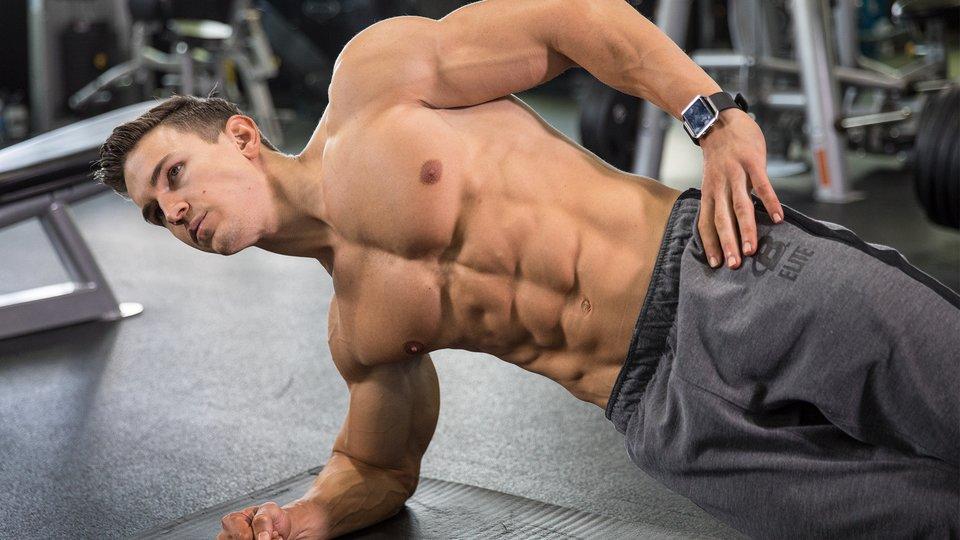 Ganzkörpertraining Männer flacher Bauch