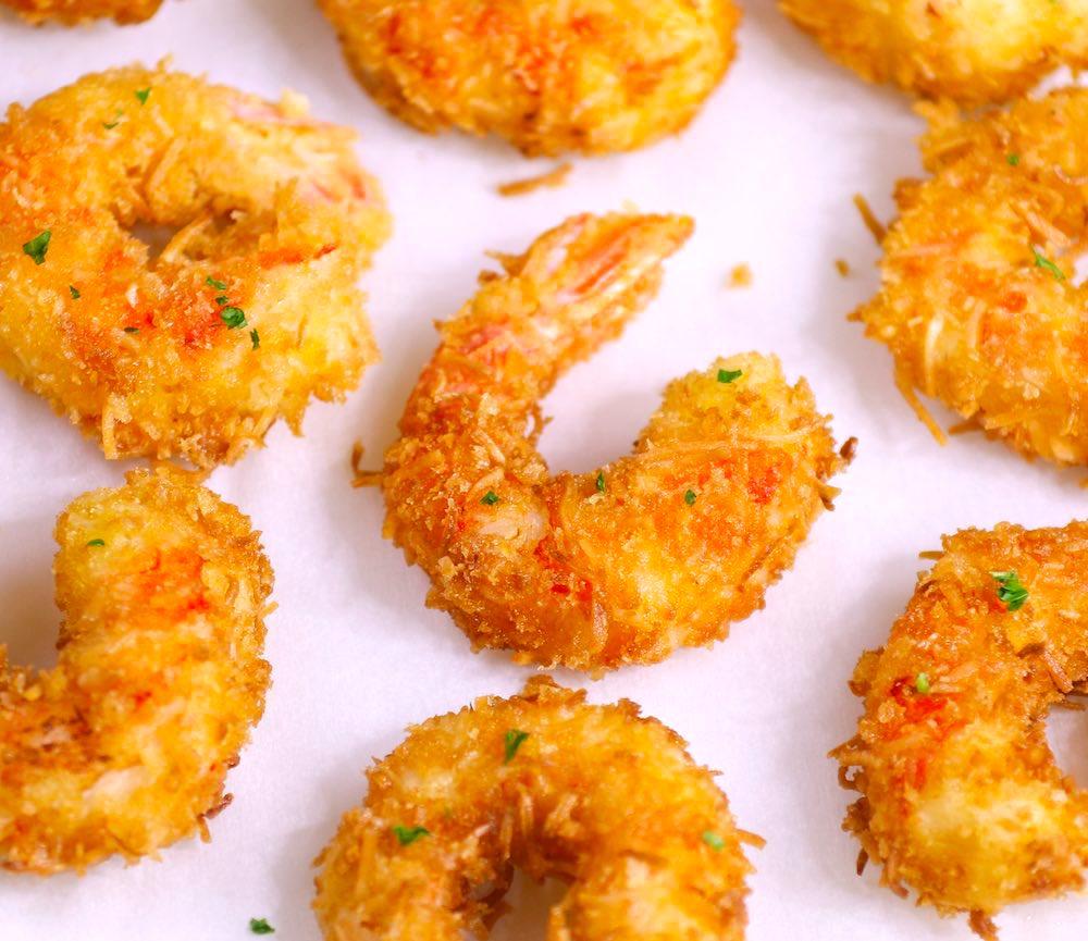 Shrimps Rezepte knusprig gebraten köstlich