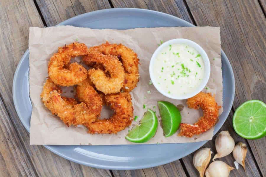 Shrimps Rezepte knusprig gebraten schnell lecker