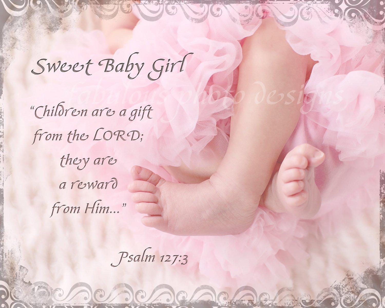 Baby Tochter Zitat christlich