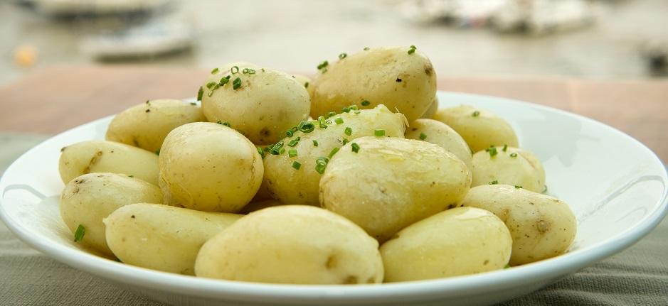 gekochte Kartoffeln gesund lecker