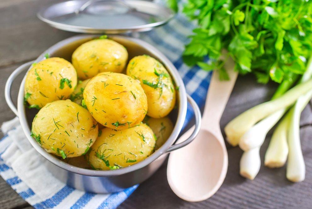 gekochte Kartoffeln schmackhafte Rezepte