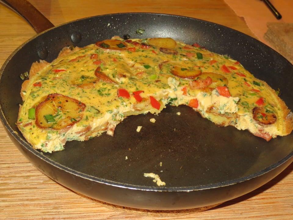 leckere Gemüse-Tortilla zubereiten