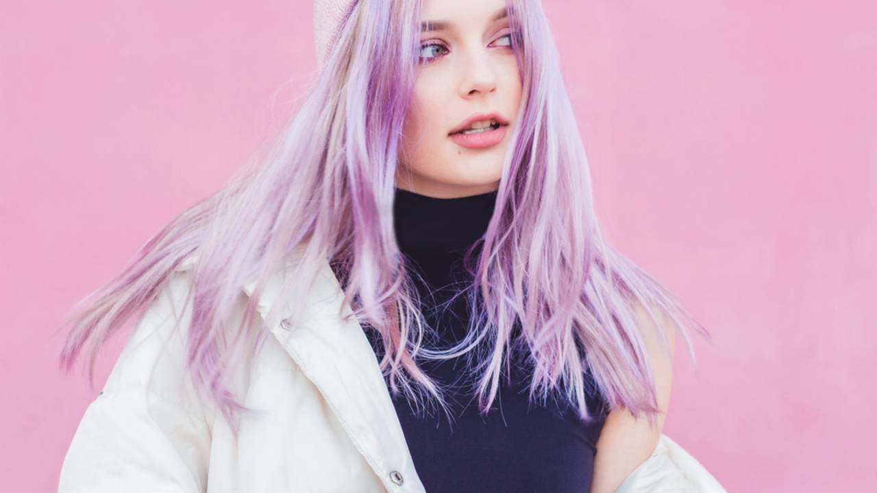 Haarfarbe Pastellrosa Trend Sommer 2019
