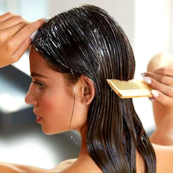 Haarmaske selber machen Auftragen Tipps