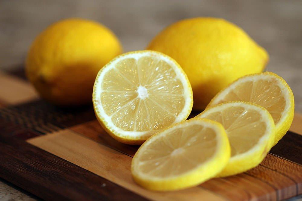 Zitrone Haarpflege fettige Haare
