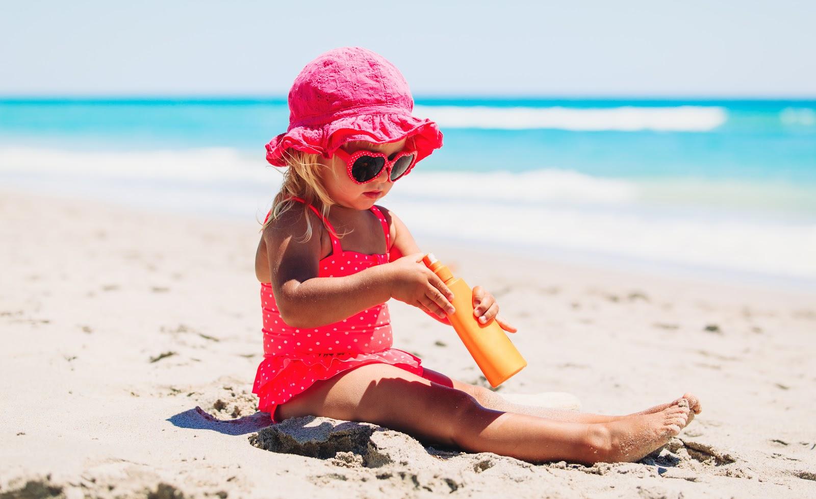 Sonnenschutz Sommer Kinder
