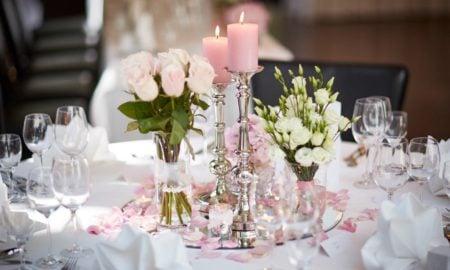 goldene Hochzeit Tischdeko wirklich romantisch