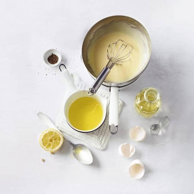 Sauce Hollandaise zubereiten notwendige Zutaten