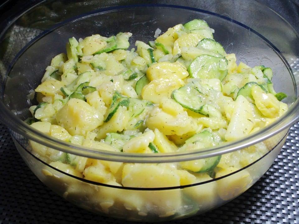 schmackhafter Kartoffelsalat