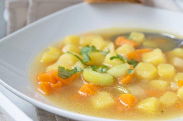 Kartoffelsuppe selber machen