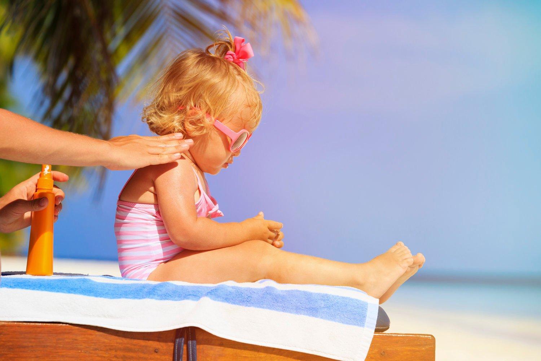 Sonnencreme Kinder ein Muss im Sommer