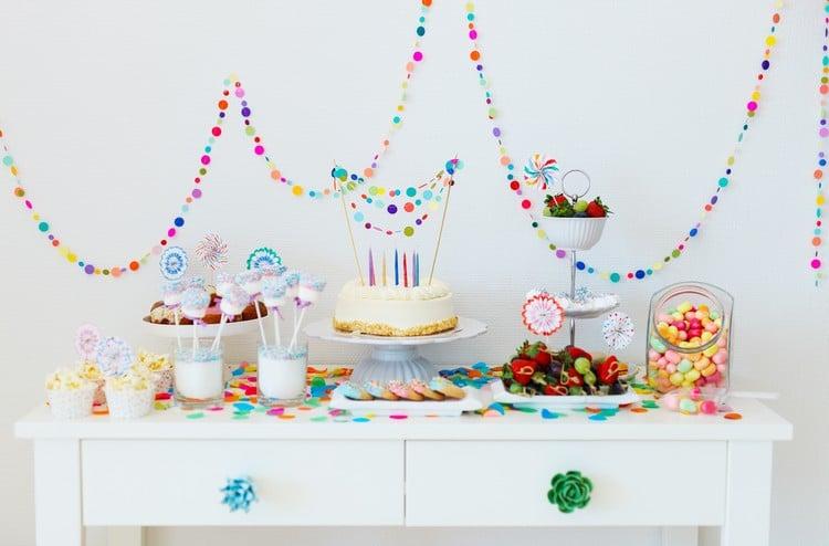 Kindergeburtstag Buffet Party Häppchen