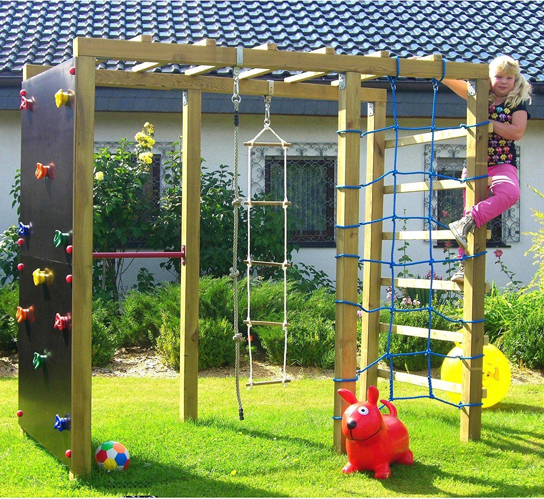Kinderspielplatz Garten Spielgeräte