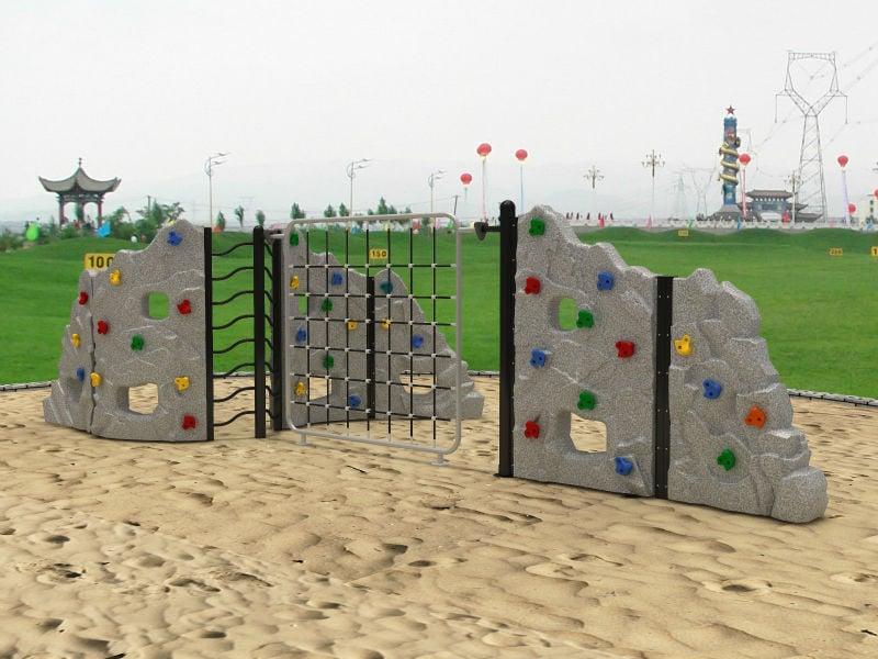 Kletterwände Sand Kinderspielplatz