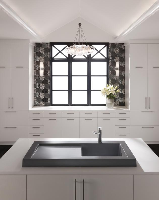 Spülbecken Granit Küche