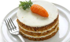 Dessertideen Rezept für Karottenkuchen