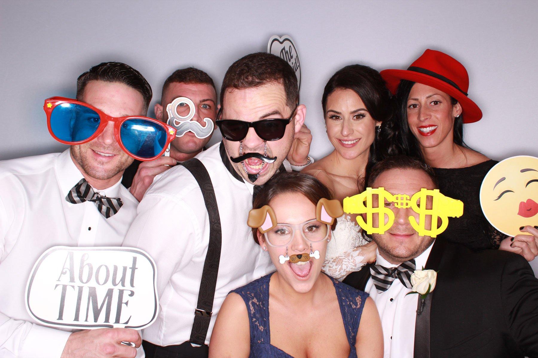coole Partyfotos machen Photobooth