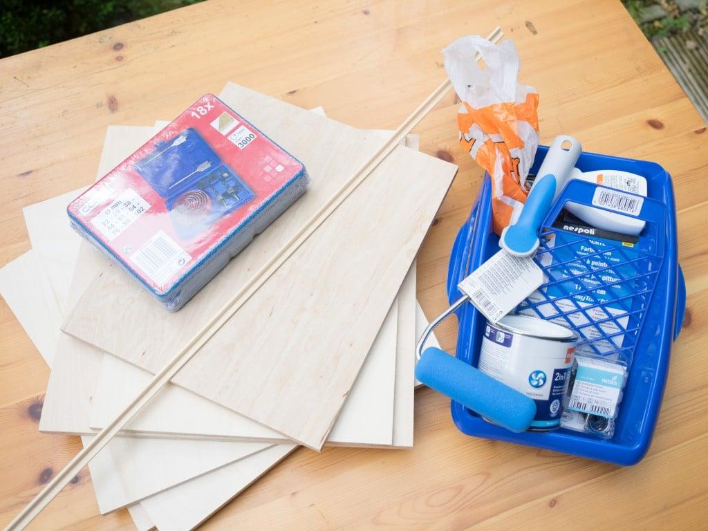 Fotobox selber bauen Materialien