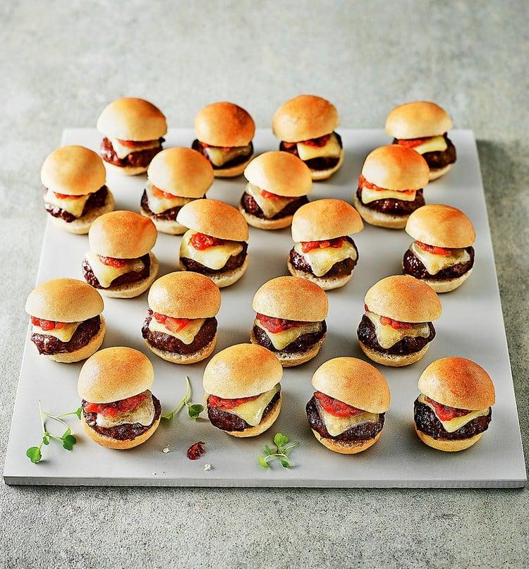 Mini Burger Rezept