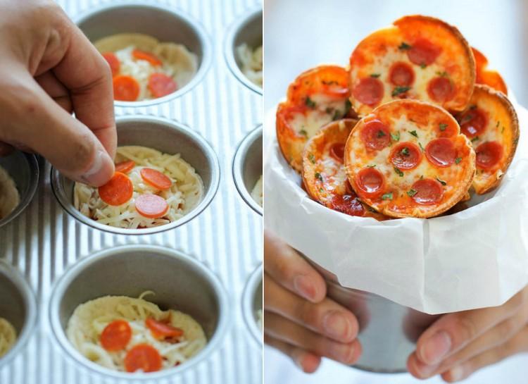 Party Häppchen Mini Pizzen