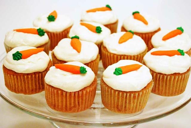 Möhrenkuchen leckere Cupcakes